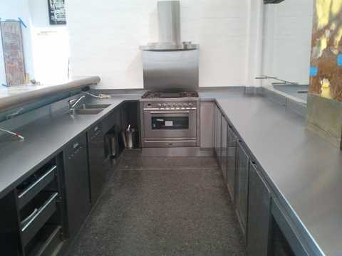 Stainless Kitchen Under Bench Refrigeration