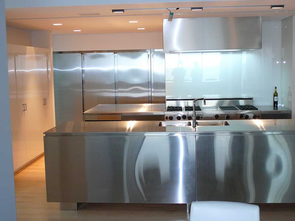 Stainless Steel Kitchen 5 Door Refrigerator