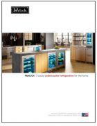 DESIGN GUIDE (2.0 MB)Meet the industry's widest selection of premium indoor and outdoor undercounter refrigeration.(21 pages)